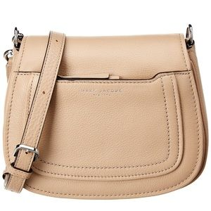NWT • Marc Jacobs • Empire City Leather Saddle Bag